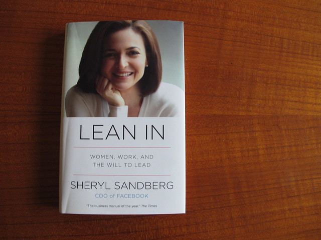 lean in: women, work and the will to lead by sheryl sandberg