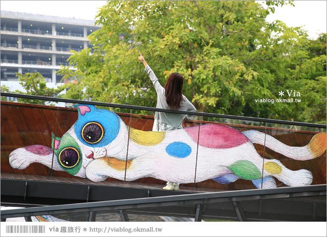 【南科幾米】台南|台積電南科幾米裝置藝術小公園~願望盛開‧許諾之地28