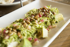 Shaved Raw Brussels Salad, Hog Island Oyster Co., Ferry Building Marketplace