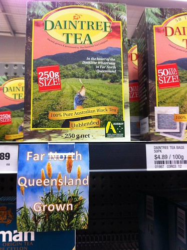 Local tea, in Woolworths, Mossman, Queensland