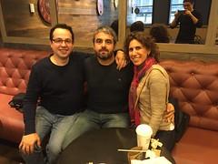 Fede, José Miguel y Marga