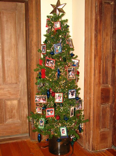 Upstairs hall tree