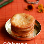 Adhirasam with sugar