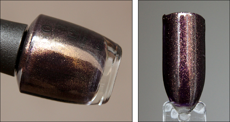 OPI First class desires swatch