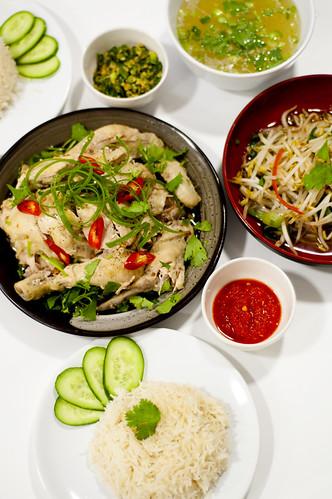 Hainanese Chicken Rice Set