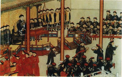 清代皇帝吃饭礼仪
