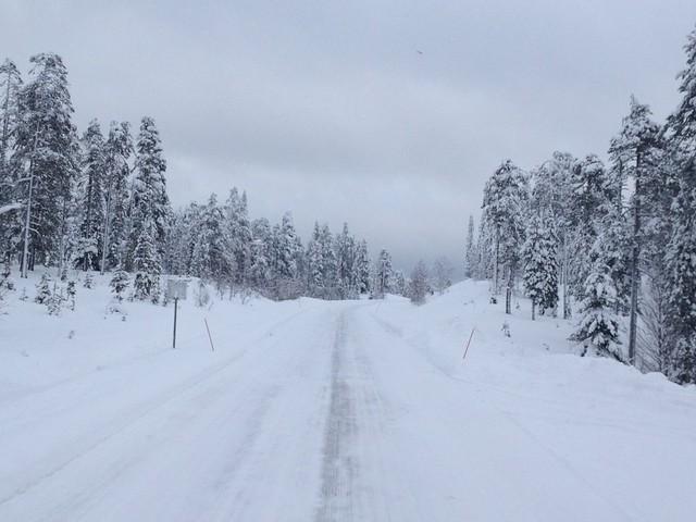 Finlandia - Kakslauttanen - Rovaniemi
