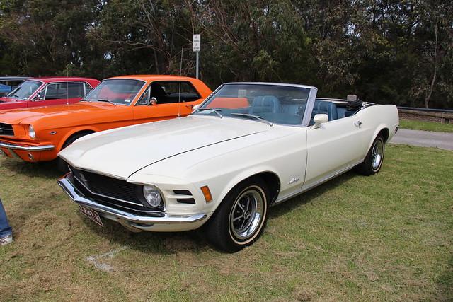 Photo:1970 Ford Mustang Convertible By Sicnag