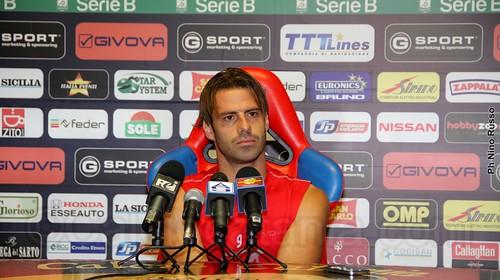 """Catania, Calaiò: """"Contro al Bologna reazione importante, adesso il Livorno""""$"""