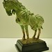 green pottery horse, Sui dynasty 518-618AD