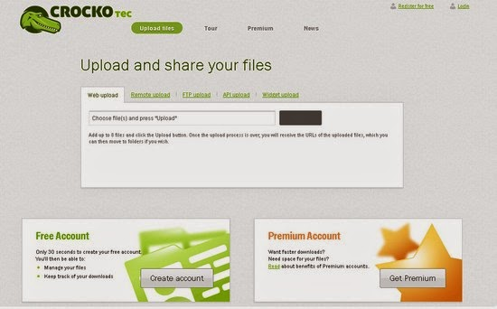 Crocko PPD File Sharing Review
