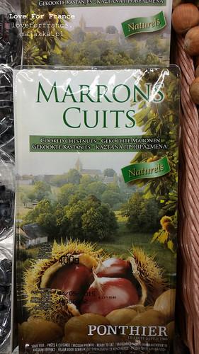 marrons cuits