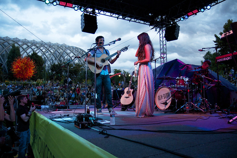 Alex Sierra At Denver Botanic Gardens Concert Photos