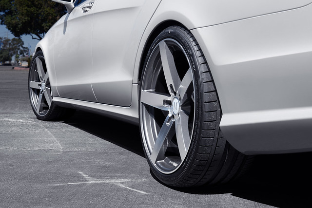 Mercedes Benz CLS550 Mandrus Wheels Arrow Rotary Forged