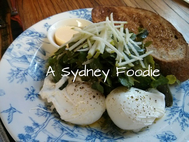Rushcutter's poached eggs
