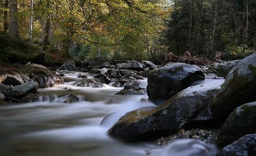 Tyrolean stream
