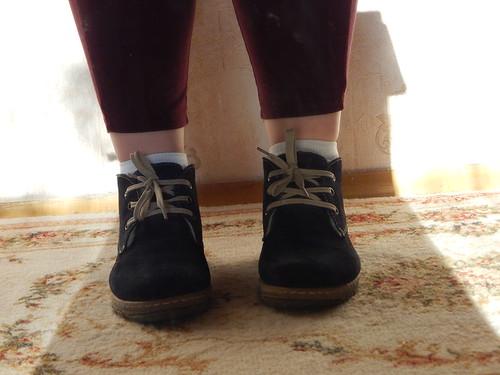 ноги в рейтузах без гетр