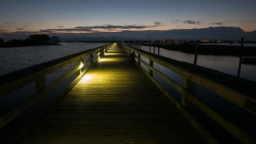 sunrise pier murrellsinlet marshwalk