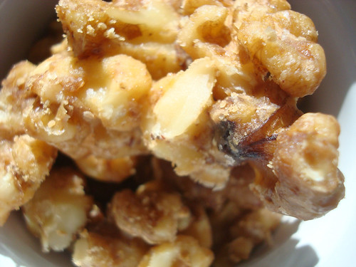 Old School favorites candied walnuts