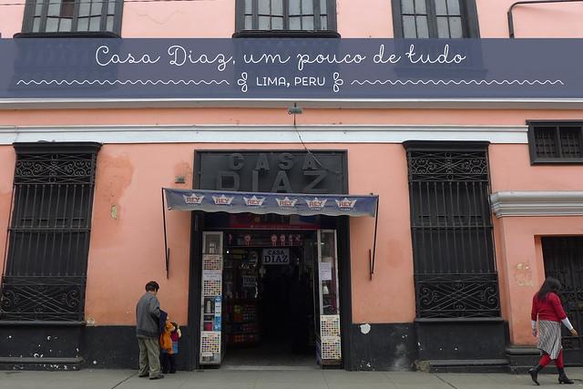 Casa Diaz, Lima, Peru