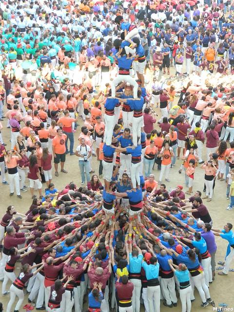 Concurs 2014, Castellers d'Esplugues