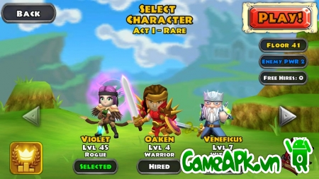 Dungeon Quest v1.6.3.0 Hack Free Shopping Cho Android
