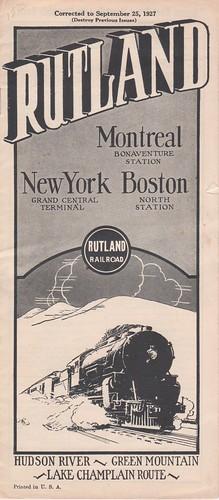 Rutland 1927 Cover