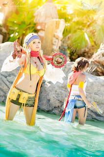 Rikku & Yuna  (Final Fantasy X-2
