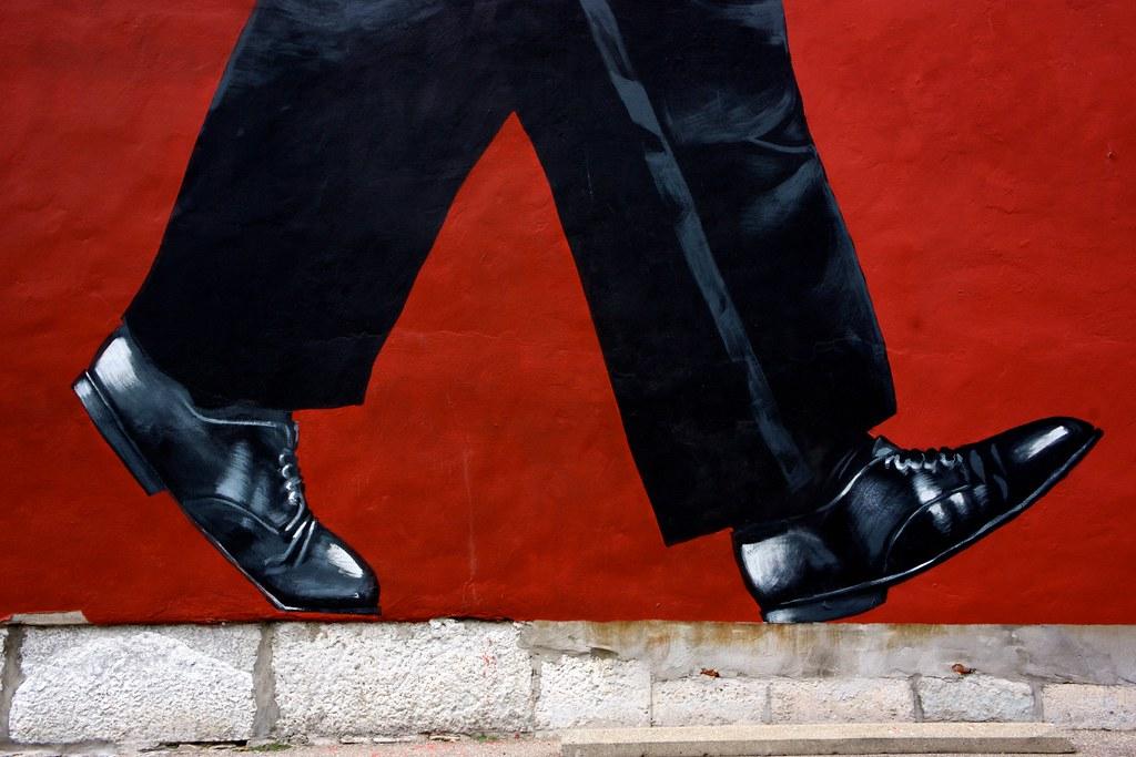Walking in Big Shoes 1