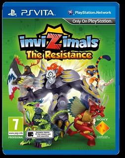 Invizimals_The Resistance_Vita 2D_ ENG