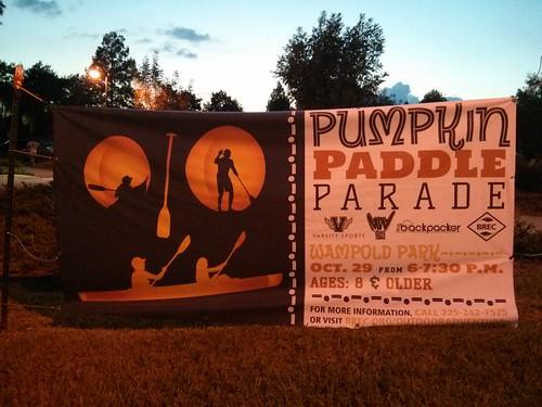 Pumpkin Paddle Parade