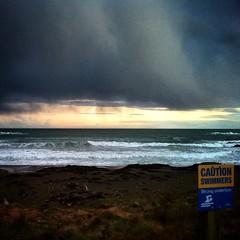 #dusk @ Houghton Bay #sunset #cloud #skypainters #sky #ocean #waves