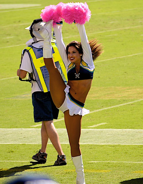 San Diego Charger Girls Kick 303 Flickr Photo Sharing