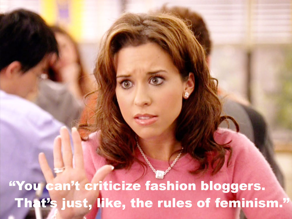 Fashion bloggers, haters, and criticism