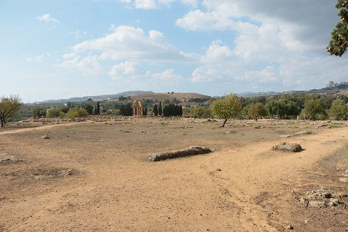 Valle dei Templi: Quartiere residenziale dell'Olympieion