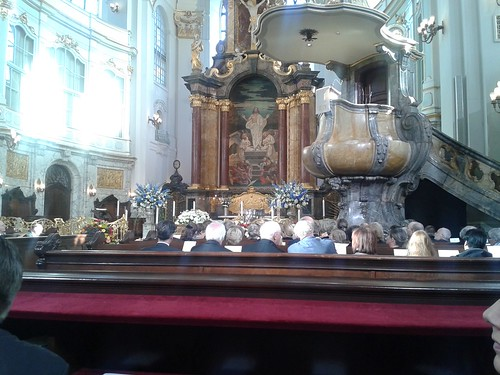 Trauerfeier für Siegfried Lenz