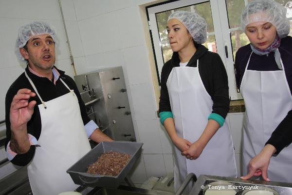 6 - мастер-класс по приготовлению сыра - традиции Португалии