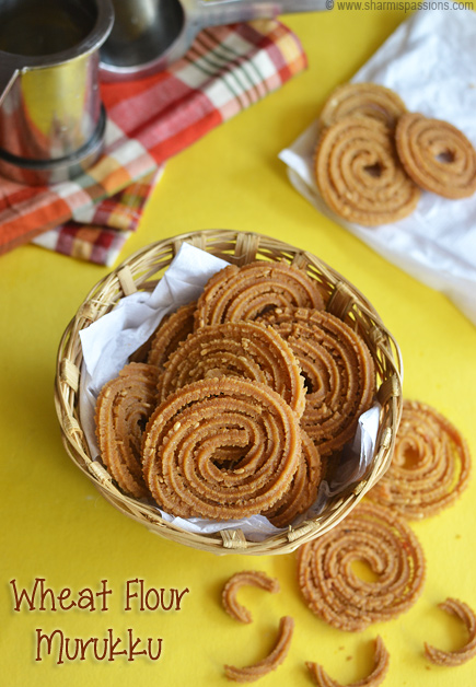 Wheat Flour Murukku Recipe
