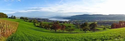 mountain lake dave landscape switzerland see view berge landschaft eichberg seengen hallwilersee weitsicht seetal