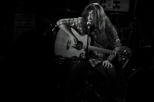 O.E. Gallagher (solo) live at Adm, Tokyo, 15 Oct 2014. 008