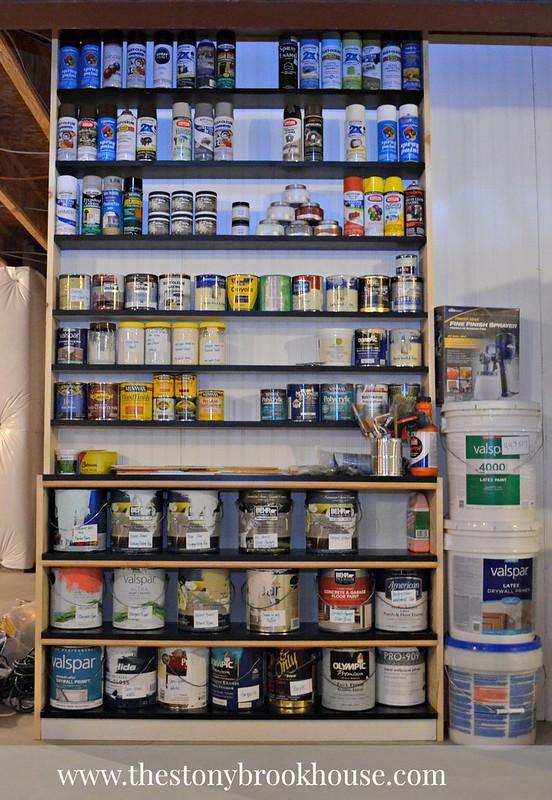 Paint Shelves Complete