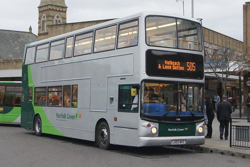Stagecoach Norfolk Green 17786 LX03 BVZ (c) David Bell