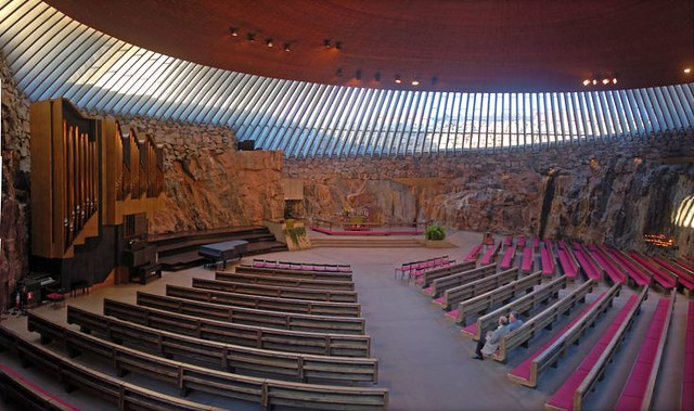 Helsinki - Iglesia Temppeliauko