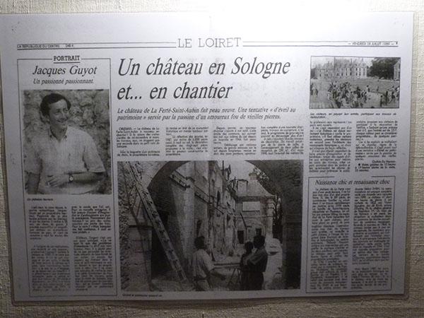 un château en Sologne