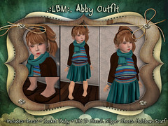 {LBM} Abby Outfit Ad