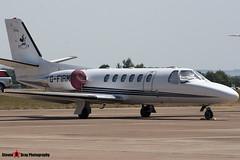 G-FIRM - 550-0940 - Private - Cessna 550B Citation Bravo - Fairford RIAT 2006 - Steven Gray - CRW_1637