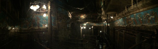 Indiana Jones Adventure queue at Tokyo DisneySea