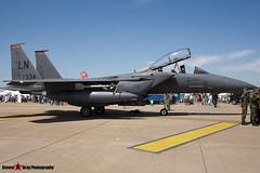 91-0334 - E-199 - USAF - McDonnell Douglas F-15E Strike Eagle - Fairford RIAT 2006 - Steven Gray - CRW_1678