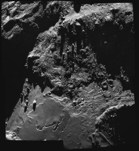 ESA Rosetta NavCam 18 ottobre 2014