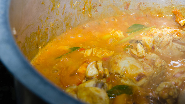 Curry from our cooking competition at Tanah Aina